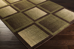 Surya Ventura VNT-7005 Olive/Chocolate Closeout Area Rug - Fall 2014