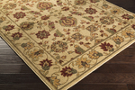 Surya Ventura VNT-7010 Beige/Burgundy/Olive Closeout Area Rug - Fall 2014