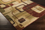 Surya Ventura VNT-7011 Beige/Burgundy/Olive Closeout Area Rug - Fall 2014
