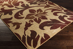 Surya Ventura VNT-7024 Beige/Burgundy/Taupe Closeout Area Rug - Fall 2014