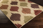 Surya Ventura VNT-7026 Beige/Olive/Sienna Closeout Area Rug - Fall 2014