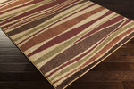 Surya Ventura VNT-7027 Beige/Chocolate/Olive Closeout Area Rug - Fall 2014