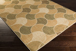 Surya Ventura VNT-7029 Beige/Olive/Mocha Closeout Area Rug - Fall 2014