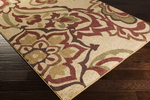 Surya Ventura VNT-7031 Beige/Sienna/Olive Closeout Area Rug - Fall 2014