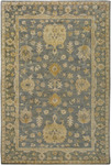 Surya Vintage VTG-5209 Green-Blue/Cream Closeout Area Rug - Fall 2012