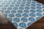 Surya Wicked WCK-2001 Aqua/Ivory Closeout Area Rug