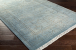 Surya Wilmington WLG-9000 Slate/Light Grey/Moss/Light Grey Area Rug