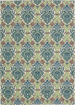 Nourison Waverly Treasures WTR03 Blue Jay Area Rug