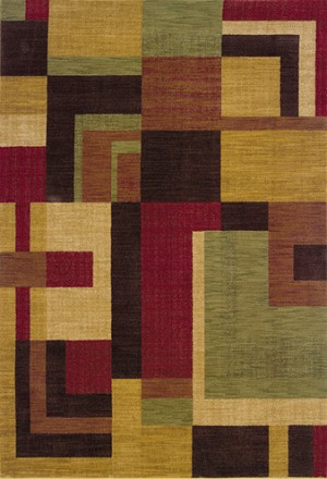 Oriental Weavers Allure 009A1 Gold Closeout Area Rug
