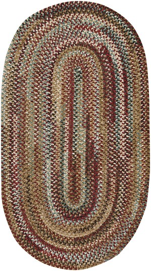 Capel New Homestead 0302-510 Sundried Red Area Rug