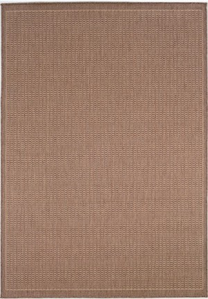 Couristan Recife 1001/1500 Saddle Stitch Cocoa/Natural Area Rug