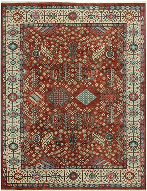 Capel Legacy 1903-575 Shiraz Classic Red Area Rug