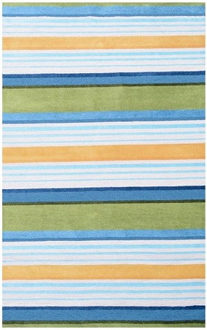Rug Market Resort 25397 Jitney Blue/Green/Multi Area Rug