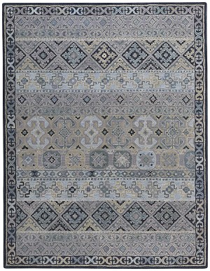 Capel Izmir 3155-300 Afghan Grey Area Rug
