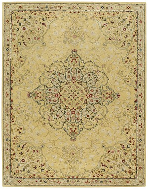 Capel Izmir 3156-100 Medallion Gold Closeout Area Rug