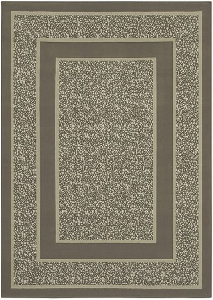 Shaw Living Woven Expressions Platinum Majestic Leopard 04701 Dove Closeout Area Rug - 2014