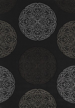 United Weavers Townshend 401 01970 Gaze - Black Closeout Area Rug