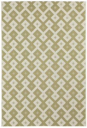 Capel Finesse 4727-200 Diamond Celery Closeout Area Rug