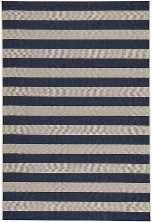Capel Finesse 4730-475 Stripe Navy Area Rug