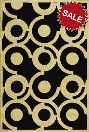 Oriental Weavers Andy Warhol Pure 50k Pop Circles Ivory Closeout Area Rug