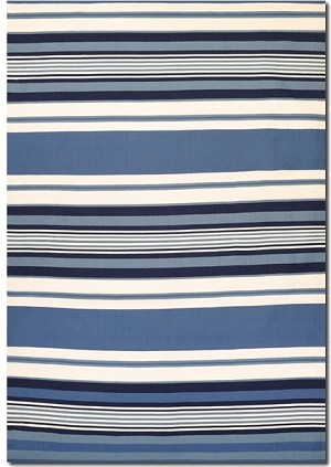 Couristan Grand Cayman 5654/5612 Catamaran Ocean Blue/Ivory Closeout Area Rug - Spring 2016