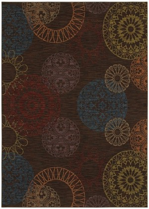 Karastan Iconoclast 575-17004 Pavilion Twilight Closeout Area Rug