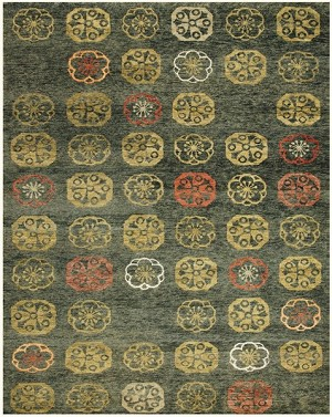 Feizy Qing 6070F Loden Closeout Area Rug