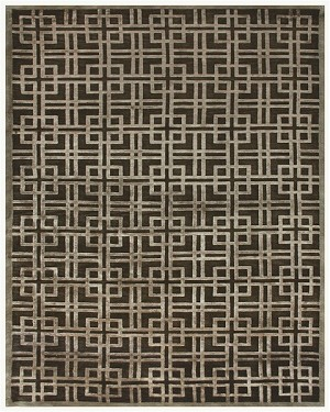 Feizy Dim Sum 6072F Pewter Closeout Area Rug