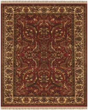 Feizy Edmonton 6520f Red Ivory Closeout