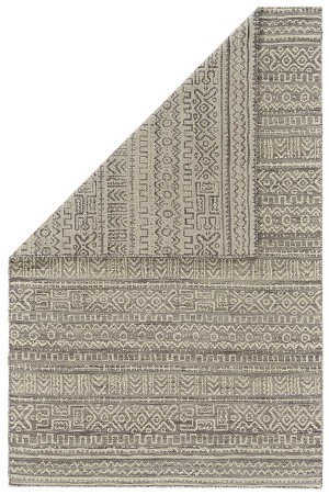 Feizy Leon 0126F WHITE/GRAY Closeout Area Rug
