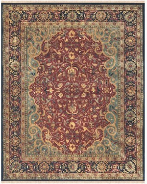Feizy Amore 8325F Plum Closeout Area Rug