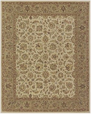 Feizy Ziba 8653F Beige/Brown Closeout Area Rug