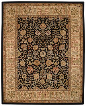 Capel Kaimuri 9292-350 Persian Cedars Black Closeout Area Rug
