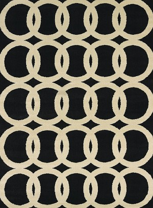United Weavers Visions 970 20170 Sochi Black Closeout Area Rug