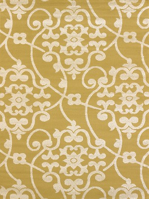 United Weavers Visions 970 20511 Jardin Harvest Gold Closeout Area Rug