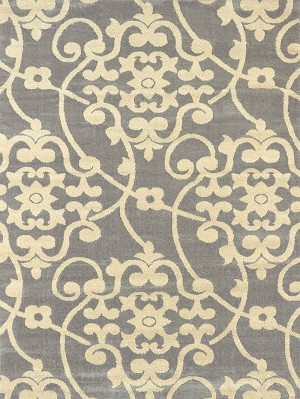 United Weavers Visions 970 20572 Jardin Grey Closeout Area Rug