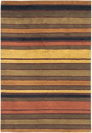 Chandra Beacon BEA1203 Gold Brown Closeout Area Rug