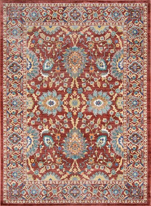Momeni Cypress CYP-01 Red Closeout Area Rug