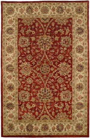 Allara Emphasis MP-1001 Red/Ivory Area Rug