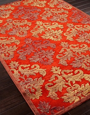 Jaipur Fables FB10 Majestic Ketchup & Friar Brown Closeout Area Rug