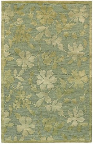 Surya Mugal IN-8087 Pale Mint Closeout Area Rug