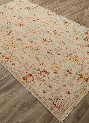 Jaipur Revival JAR02 Hacci Fog & Apricot Orange Area Rug