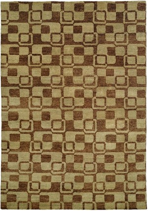Allara Jagraon AG-1000 Multi Earth Tones Closeout Area Rug