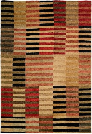 Allara Jagraon AG-1001 Multi Earth Tones Closeout Area Rug