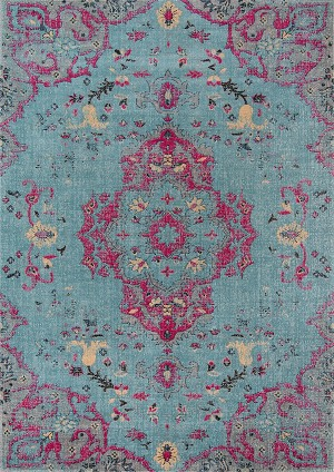 Momeni Jewel JW-02 Blue Closeout Area Rug