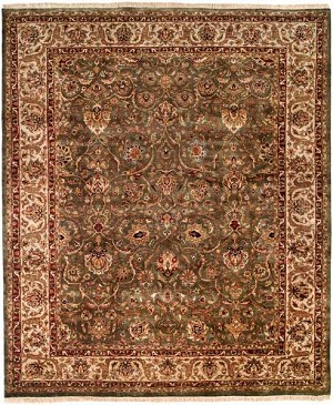 Allara Karmas AS-1001 Green/Beige Closeout Area Rug