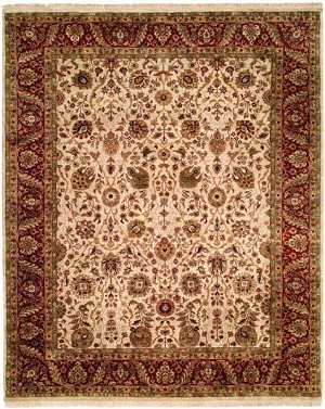 Allara Karmas AS-1008 Beige/Red Closeout Area Rug