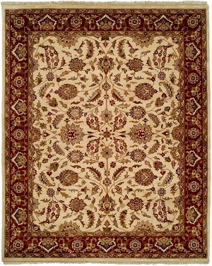 Allara Layered AY-1007 Ivory/Antique Closeout Area Rug