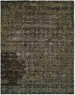 Allara Madurai AI-1002 Coffee Multi Closeout Area Rug