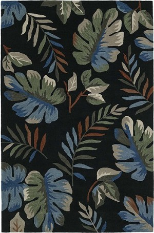 Dalyn Maui MM1 Black Area Rug